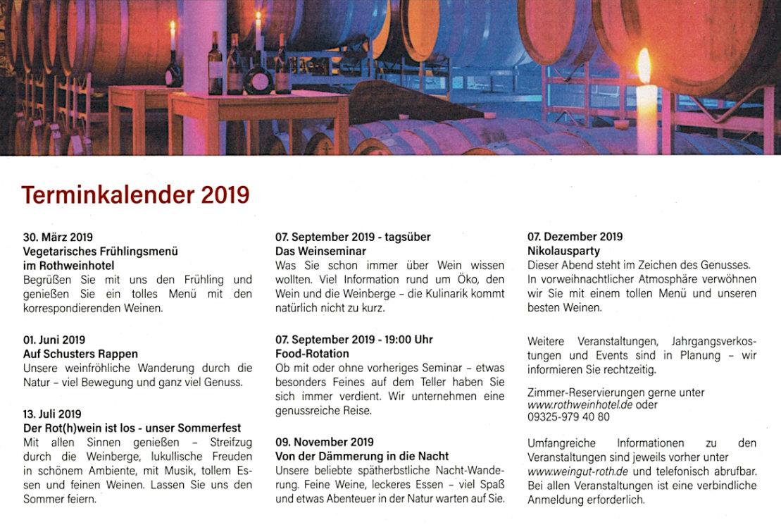 Terminkalender 2019