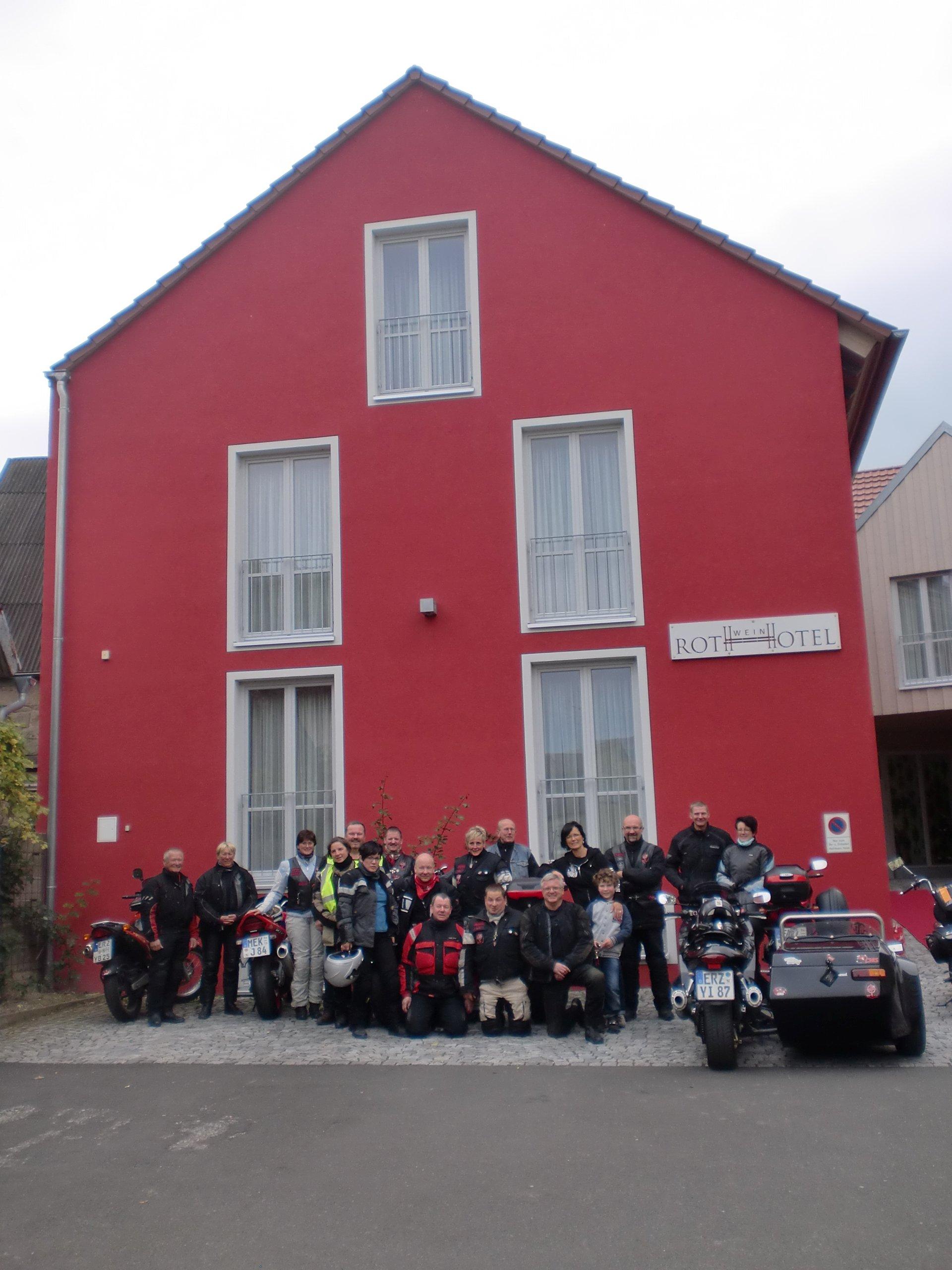 "Visit of the christian motorcycle club ""Christliche Motorradfahrer Sachsen e.V."""