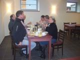 Zufriedene Gäste beim Frühstück