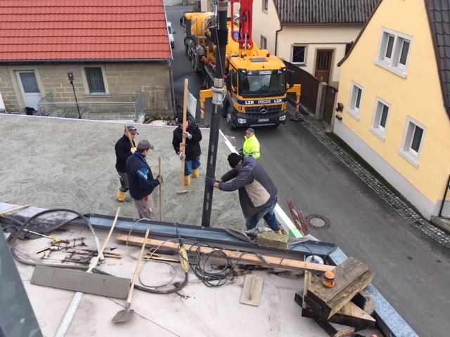 Vorerst letzte Bauphase
