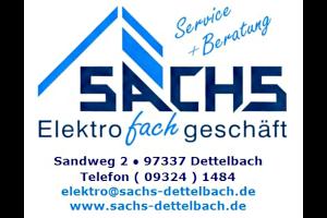 Sachs Elektrofachgeschäft