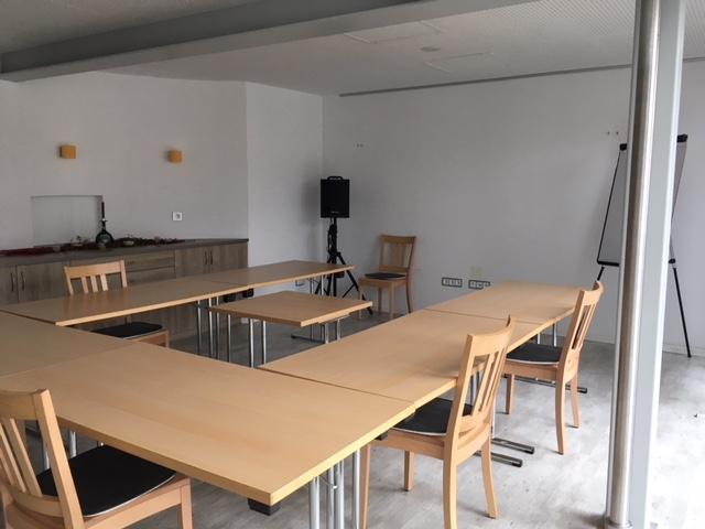 Bestens ausgestatteter Tagungsraum