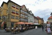 Stände am Markplatz