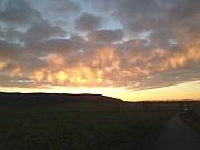 Wiesenbronn Sonnenuntergang