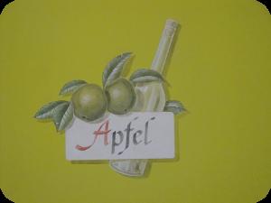 Hotelzimmer Apfel