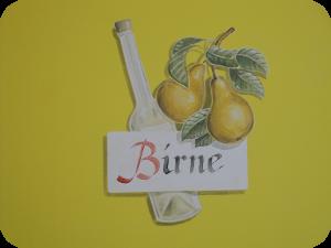 Hotelzimmer Birne