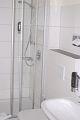 Dusche im Zimmer Rivaner