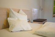 Bett im Zimmer Sauvignon blanc