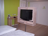 Hotelzimmer Riesling Fernseher