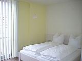 Hotelzimmer Rivaner Bett