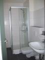 Hotelzimmer Rivaner Dusche